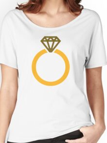 Diamond ring Women's Relaxed Fit T-Shirt
