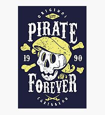 Pirate Forever Photographic Print