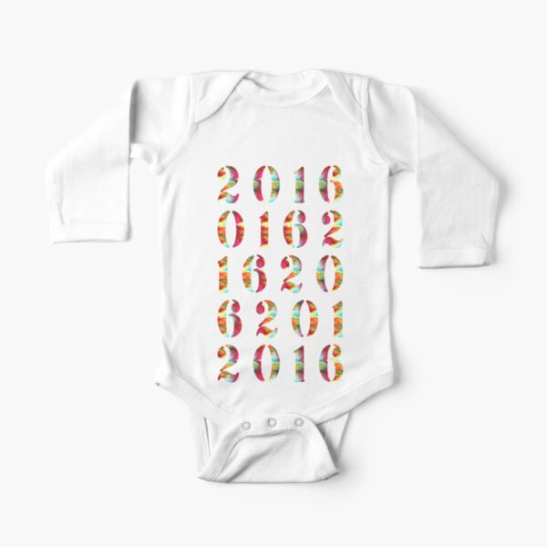 2016 Long Sleeve Baby One-Piece