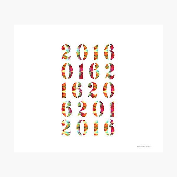 2016 Photographic Print