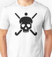 Field hockey skull T-Shirt