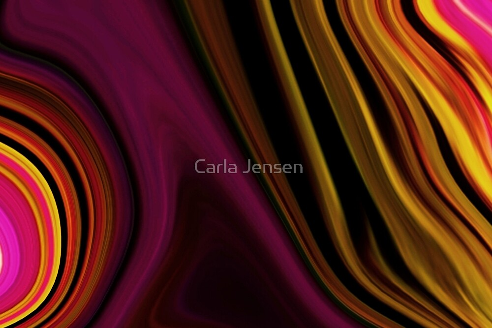 Abstract ~2  ( Mental State ) by Carla Jensen