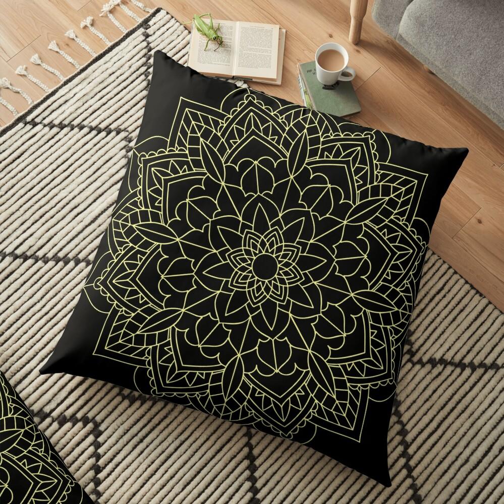 Mandala Me Floor Pillow
