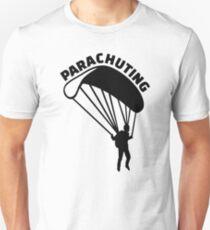 Parachuting Unisex T-Shirt