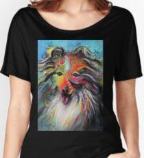 Boho Sheltie Women's Relaxed Fit T-Shirt