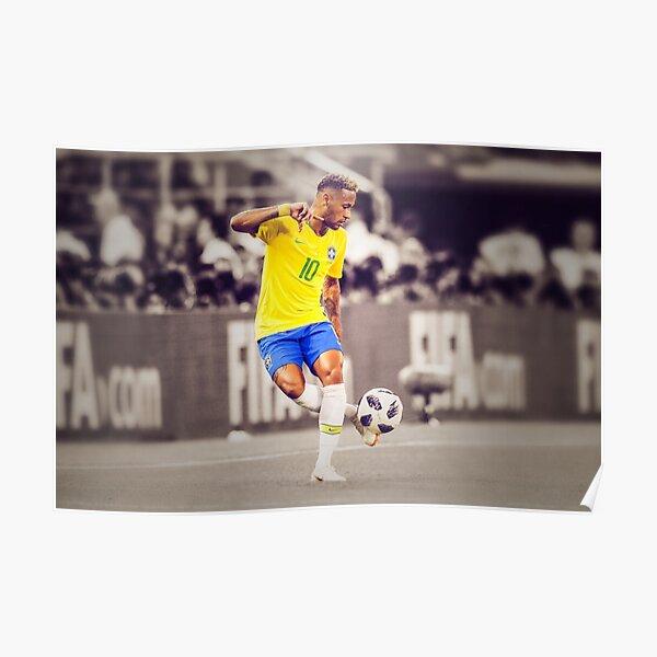 Neymar - Brésil Poster