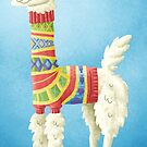 Llama in a sweater by Jeff Crowther