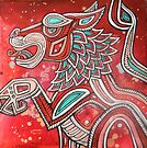 Red Lion by Lynnette Shelley