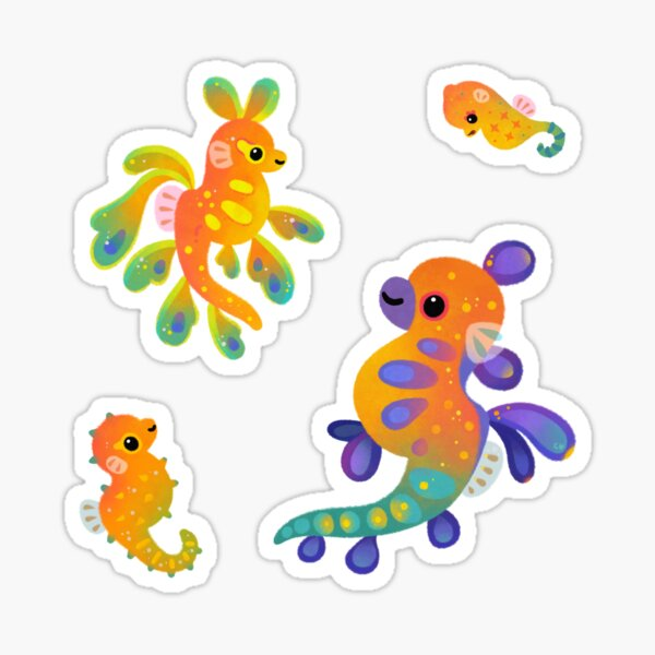 Pipefish Sticker