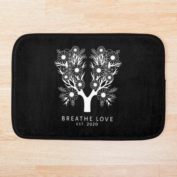 The Breathe Love Tree Bath Mat