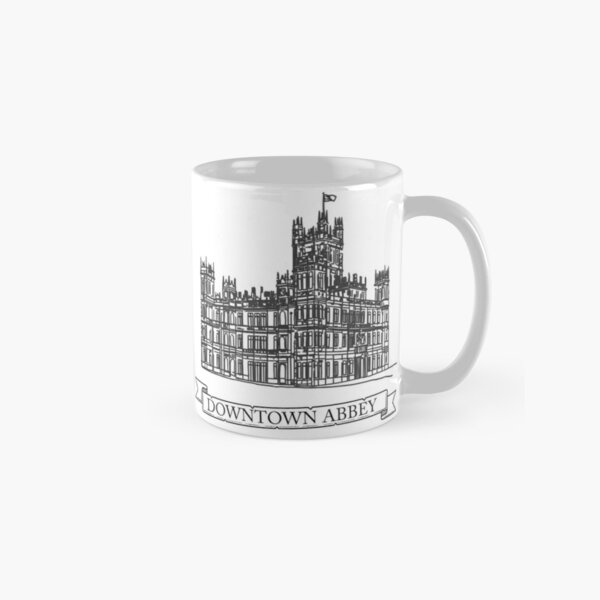 Downton Abbey Mug classique