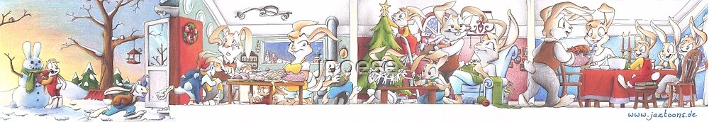 Holiday Season with the Rabbits -complete by jpoese