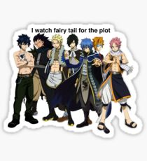 I watch Fairy Tail Sticker