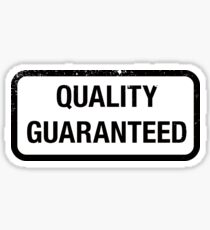 Quality Guaranteed Sticker