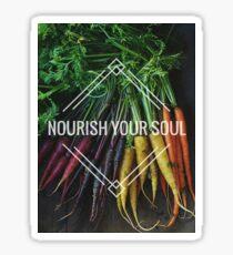 Nourish your Soul Sticker