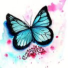 Blue Butterfly by IsabelSalvador