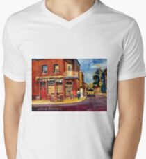 CANADIAN PAINTINGS RUE FAIRMOUNT MONTREAL STREETS  T-Shirt