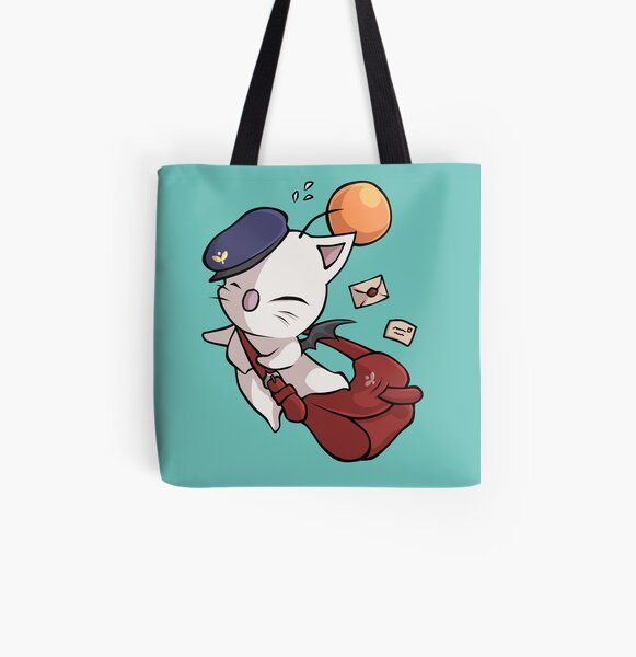 Delivery Moogle - Final Fantasy All Over Print Tote Bag