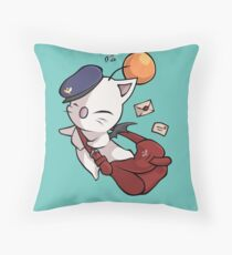 Delivery Moogle - Final Fantasy Throw Pillow