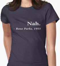 Nah Rosa Parks Women's Fitted T-Shirt