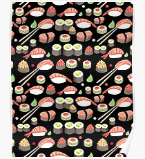 delicious Japanese sushi   Poster