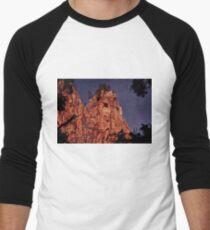 Howl at the Moon Men's Baseball ¾ T-Shirt