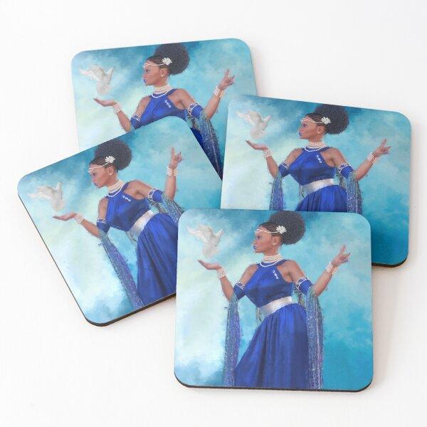 Zeta Coasters (Set of 4)