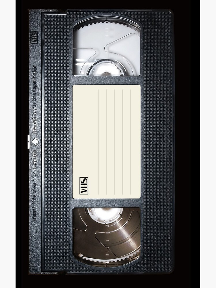 VHS tape iphone-case by Abricotti