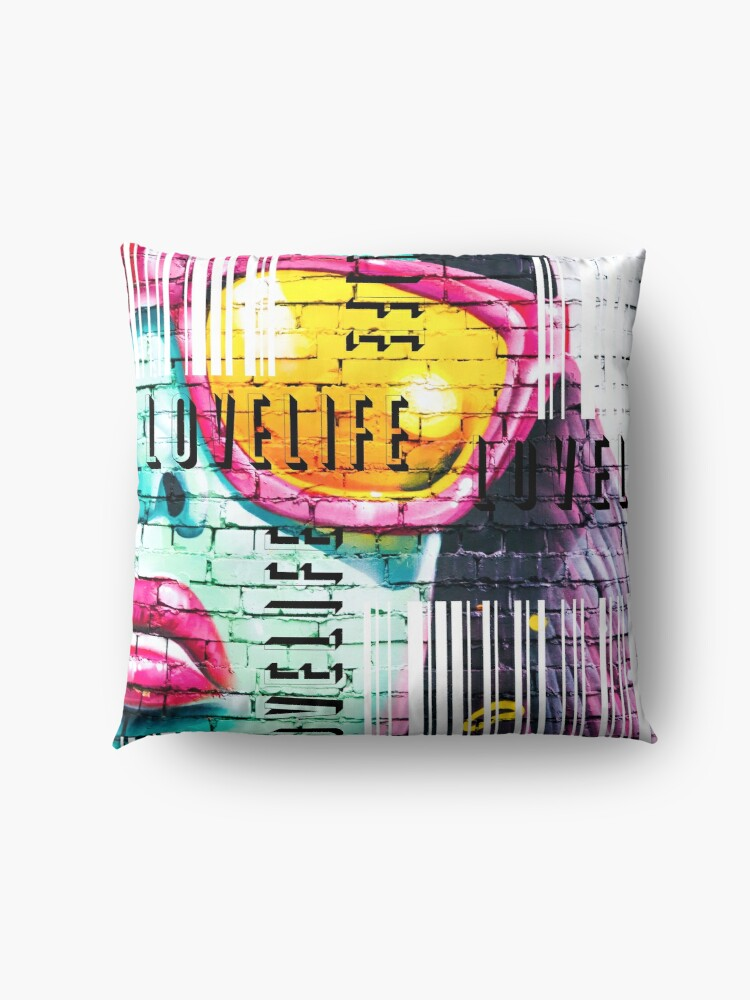 Alternate view of Life Code Floor Pillow
