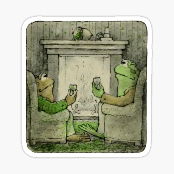 Frog and Toad - Cheers Sticker