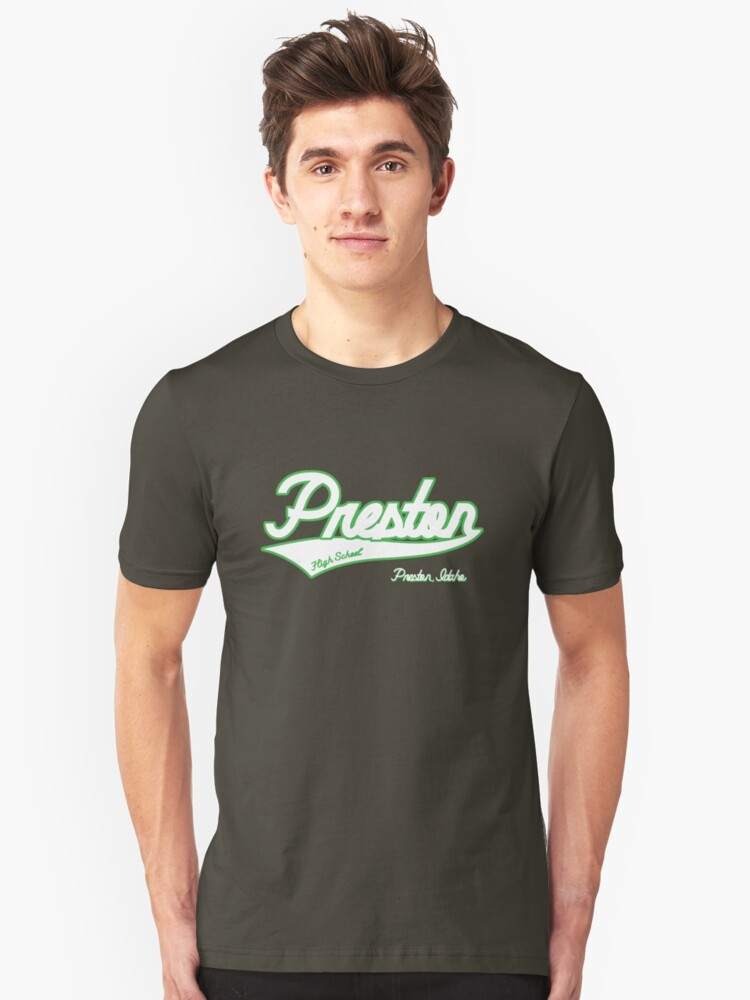 Preston High School Unisex T-Shirt Front