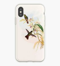 A monograph of the Trochilidæ or family of humming birds by John Gould 1861 V5 120 iPhone Case