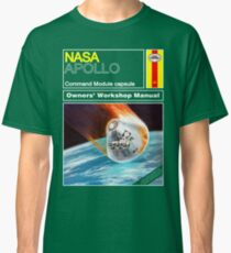 Owners Workshop Manual - NASA Apollo Classic T-Shirt