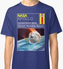 Owners Workshop Manual - NASA Apollo Classic T-Shirt