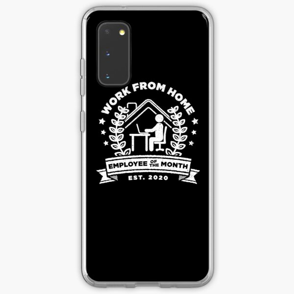 Work From Home: Employee of The Month - Funny Gift Samsung Galaxy Soft Case
