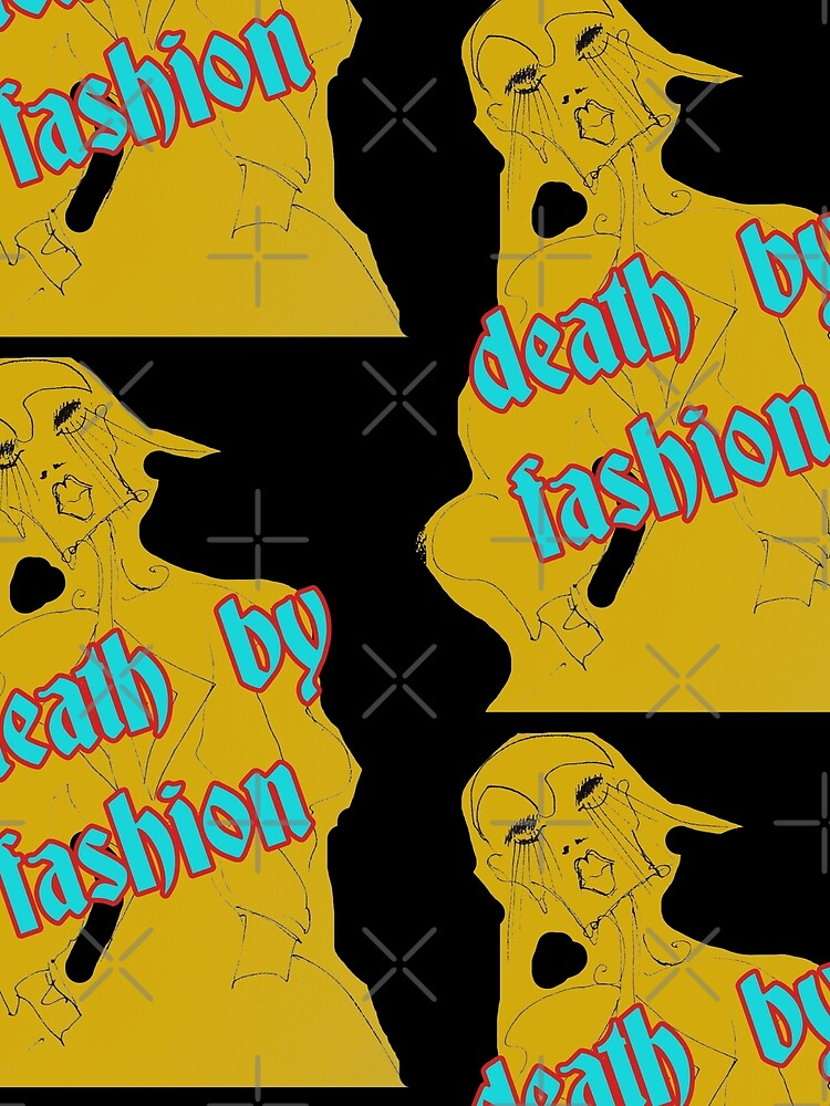 Death by Fashion Limited Edition Wearbale Art by Dominartist by delamareshop