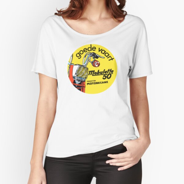 Cyclomoteur Vintage Mobylette 50 motobecane T-shirt coupe relax