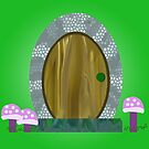 Fairy door by dragonsentwined