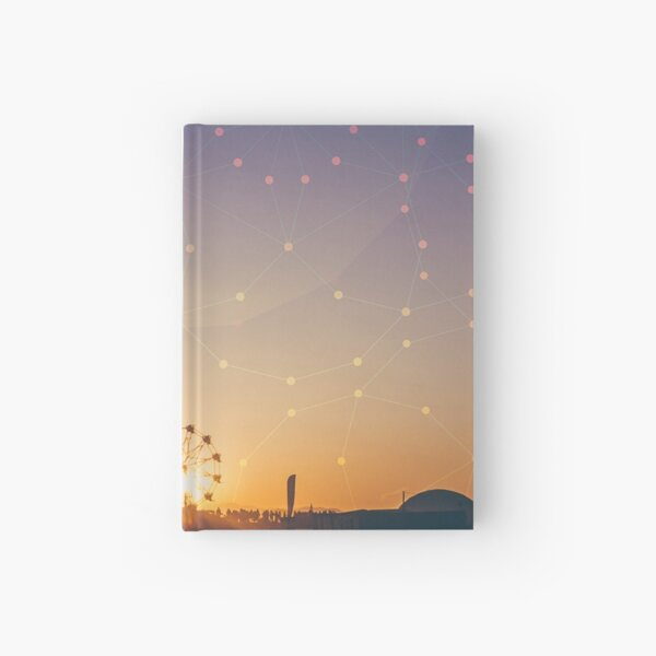 Festival Sunset Hardcover Journal