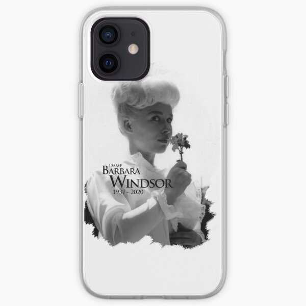 RIP Barb Windsor Fame 1980s iPhone Soft Case