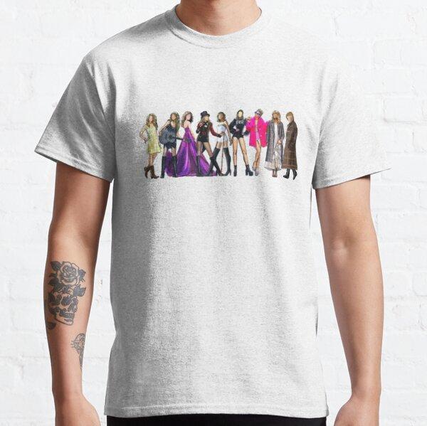 9 époques T-shirt classique