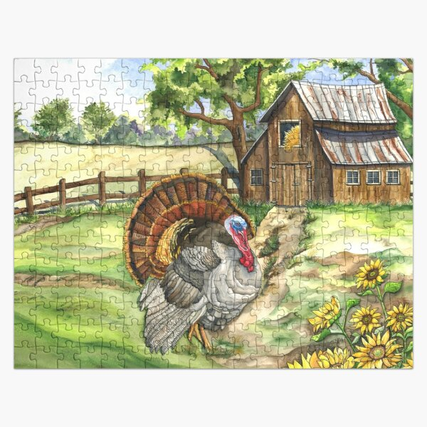 Country Life Jigsaw Puzzle