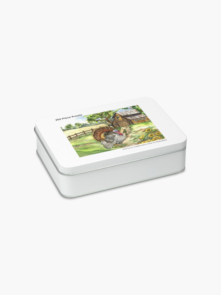 Alternate view of Country Life Jigsaw Puzzle