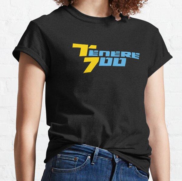 Yamaha Tenere 700 Logo Yellow-Blue Rally Raid Classic T-Shirt