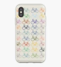 bike pattern iPhone Case