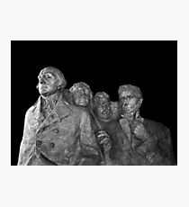 Mount Rushmore National Memorial Scale Model Photographic Print