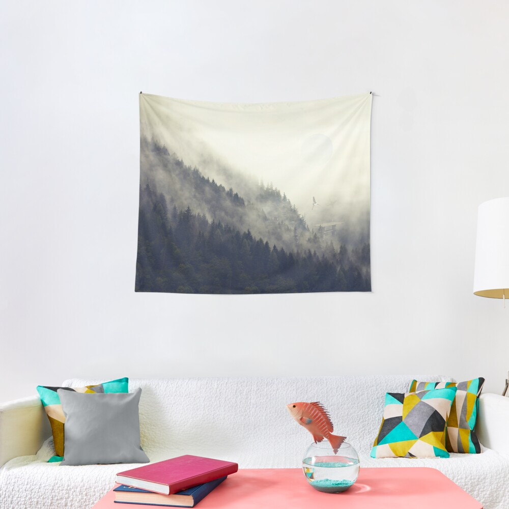 Forest Moon Tapestry