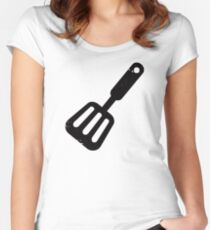 Spatula Women's Fitted Scoop T-Shirt