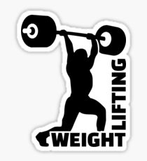 Weightlifting Sticker