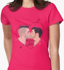 Histoire d'un amour Womens Fitted T-Shirt